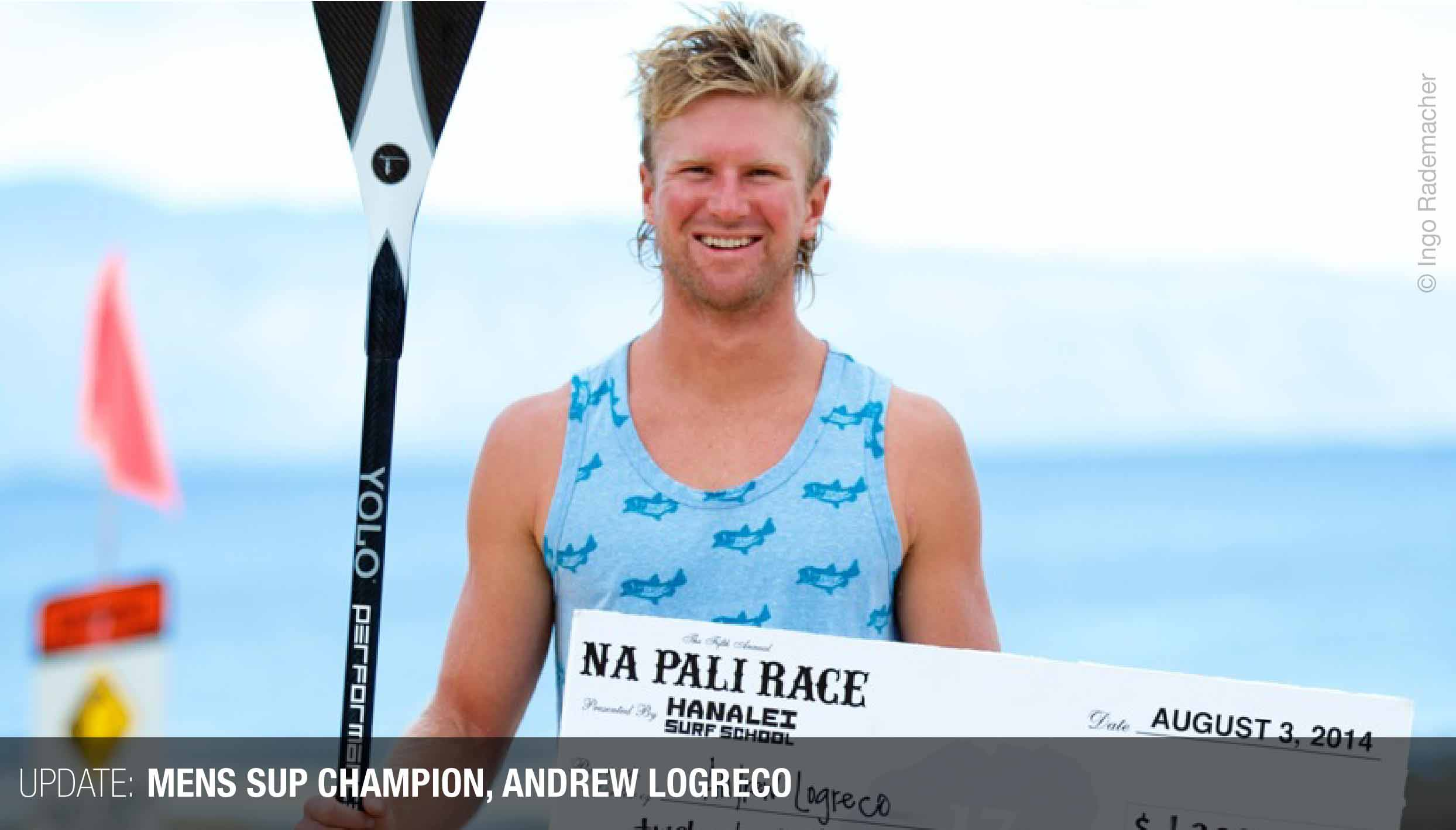 Mens 2014 SUP Winner, Andrew Logreco